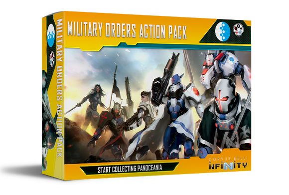 PanOceania: Military Orders Action Pack