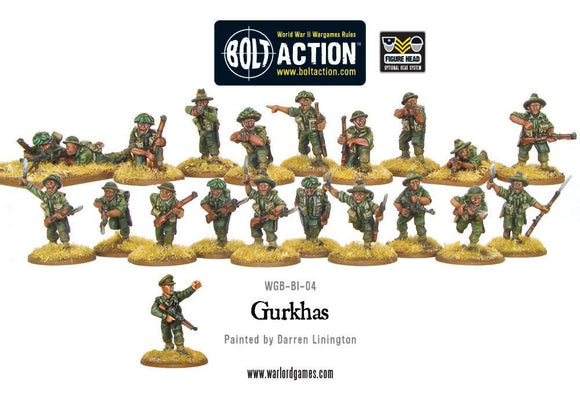 Bolt Action: Gurkhas boxed set