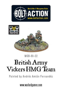 Bolt Action: British Army Vickers HMG Team