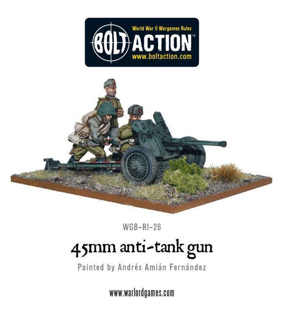 Bolt Action: Soviet 45mm Anti-Tank Gun