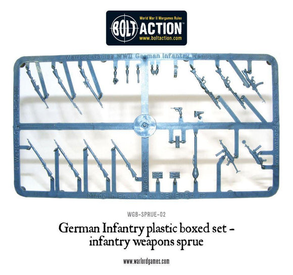 Bolt Action: German Weapon Sprue