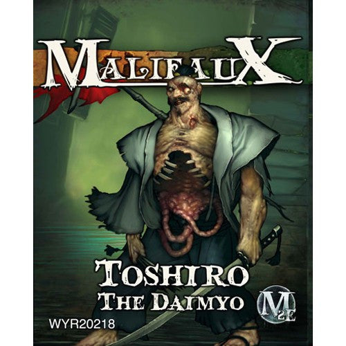 Malifaux Resurrectionists: Toshiro, The Daimyo