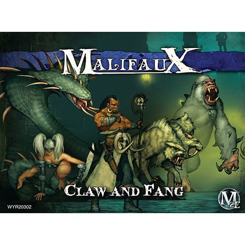 Malifaux Arcanists: Claw and Fang (Marcus Crew) Set