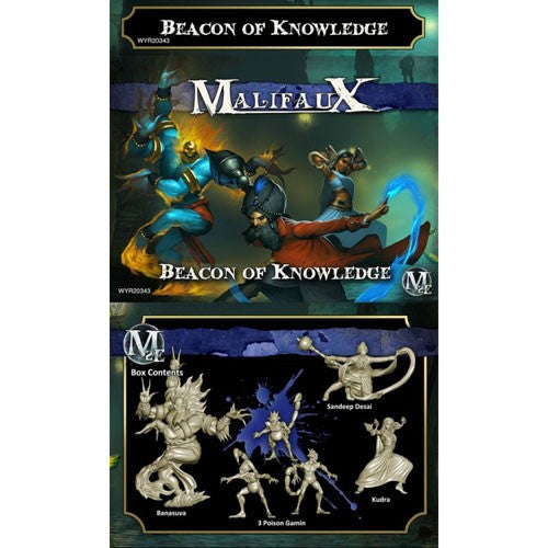 Malifaux Arcanists: Beacon of Knowledge (Sandeep crew)