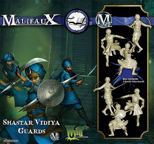 Malifaux Arcanists: Shastar Vidiya Guards