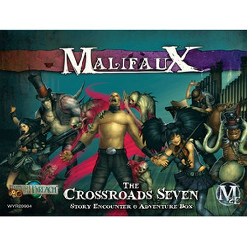Malifaux Crossroads 7 Story Encounter and Adventure Box
