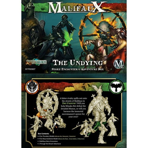 Malifaux 2E Encounters: The Undying Encounter Box