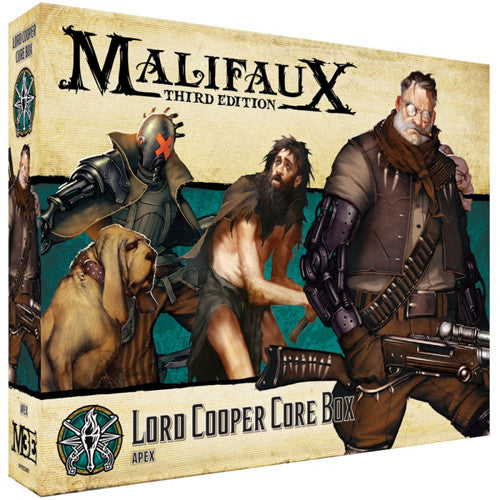 Malifaux 3E Explorer's Society: Lord Cooper Core Box