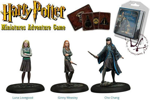 Harry Potter Miniatures 35 mm 3-pack Dumbledore's Army