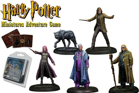 Harry Potter Miniatures 35 mm 5-pack Order of the Phoenix