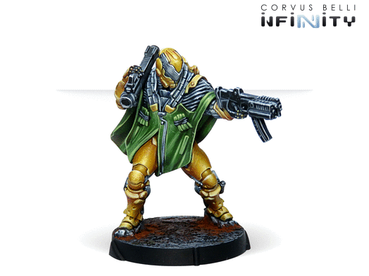 Infinity: Zhencha, Armored Reconnaissance Regiment (Submachine Gun)