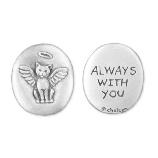 Always With You memorial cat coin