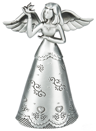 Angel of Miracles pewter angel