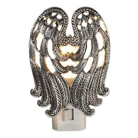 Angel wing night light