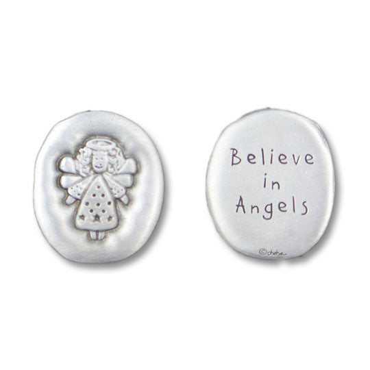 Believe in Angels coin