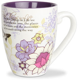 Best Things in Life colourful mug