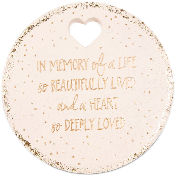 Butterfly Whispers - In Memory garden memorial stone