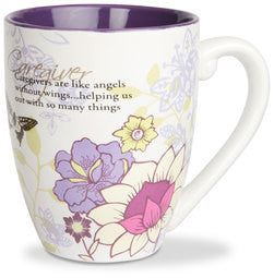 Caregiver colourful mug