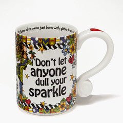 Don't Let Anyone Dull Your Sparkle mug