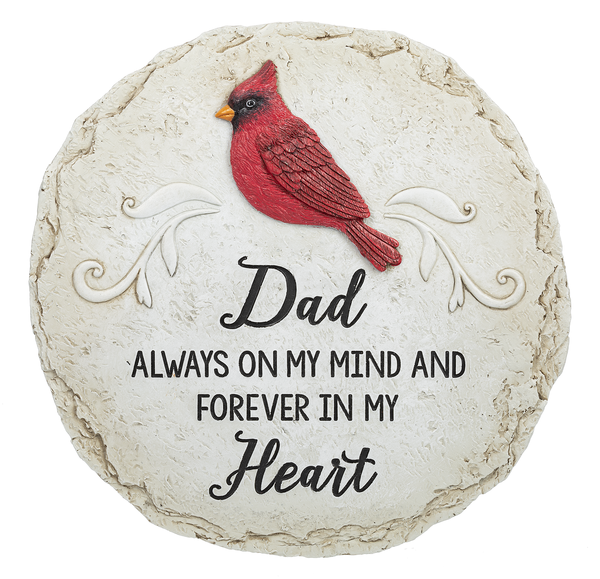 Cardinal Stepping Stone - Dad