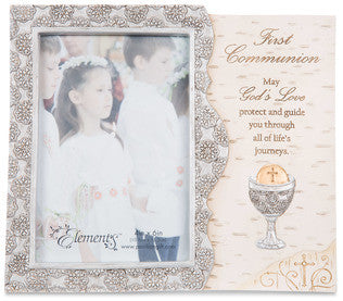 Elements - First Communion picture frame