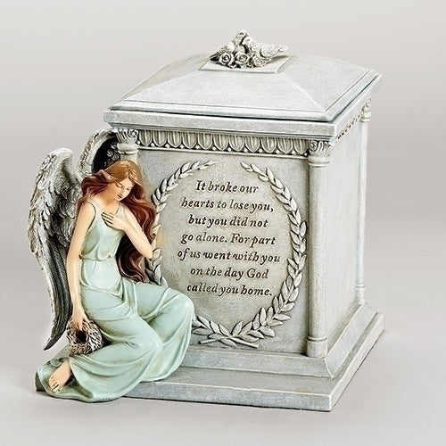 Forever With The Angels Memorial Square Urn
