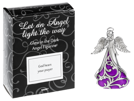God hears your prayers - glow in the dark angel