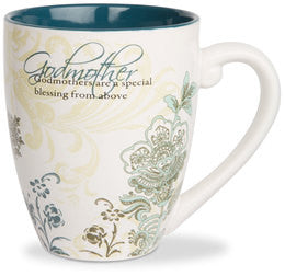 Godmother colourful mug