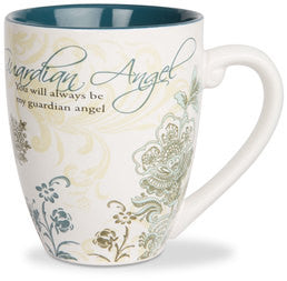Guardian Angel colourful mug