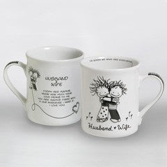Husband & Wife mug by Marci