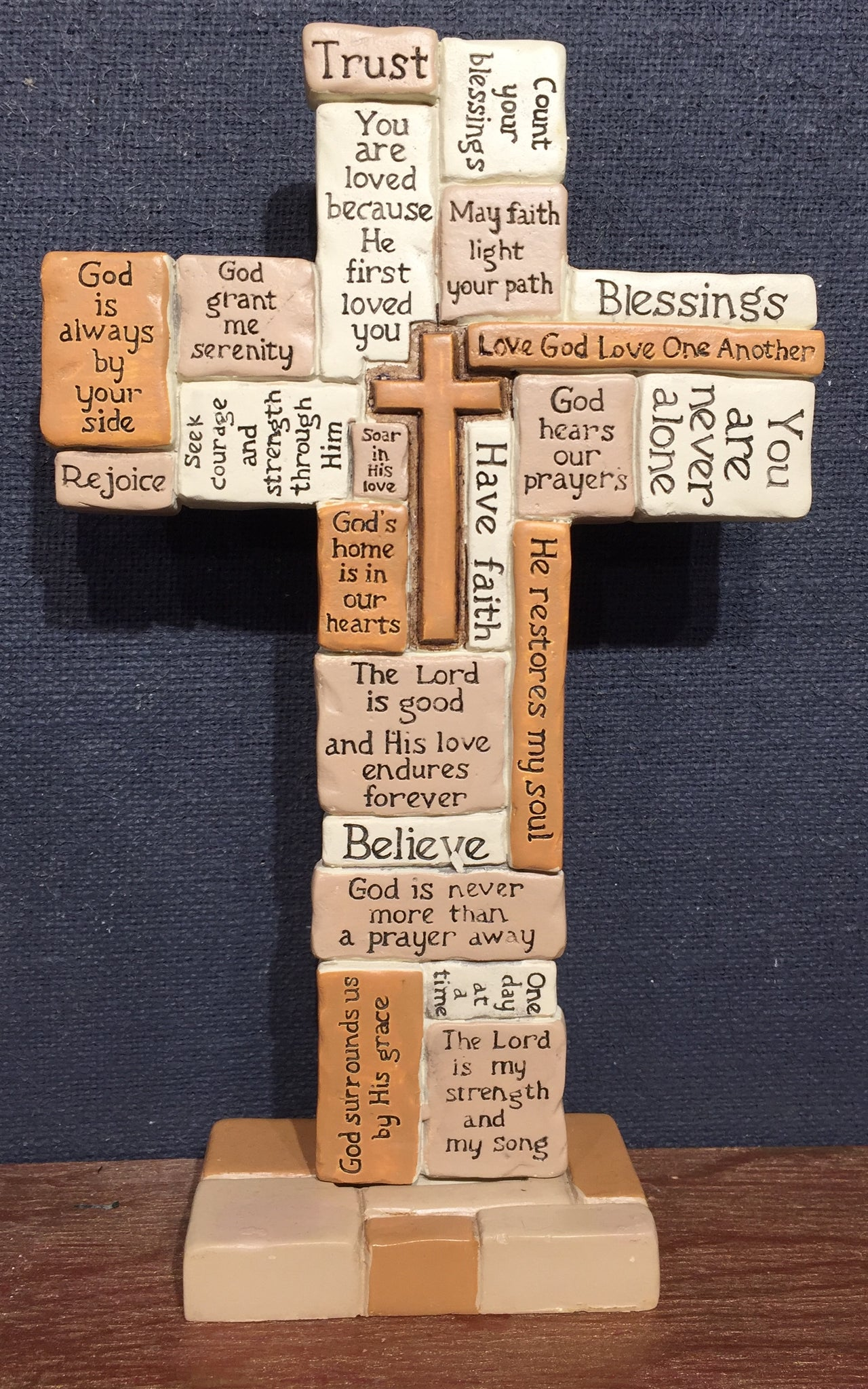 Collage Standing Cross
