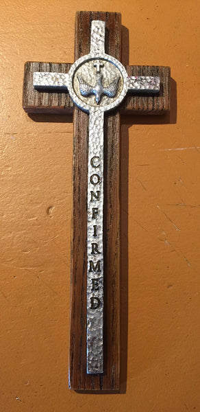Confirmation hanging Cross