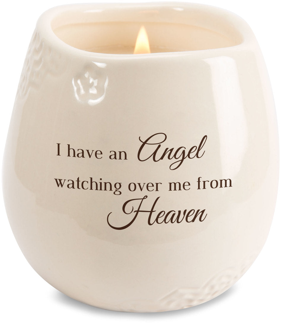 Light Your Way - Angel soy candle