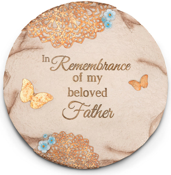 Light Your Way - Remembrance of Father garden stone