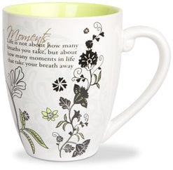 Moments colourful mug