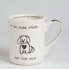 Pet The Dog mug