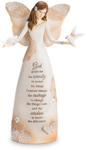Light Your Way - Serenity Prayer angel