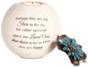 Stars In The Sky memorial candle holder