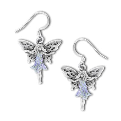 Fairy fish hook earrings