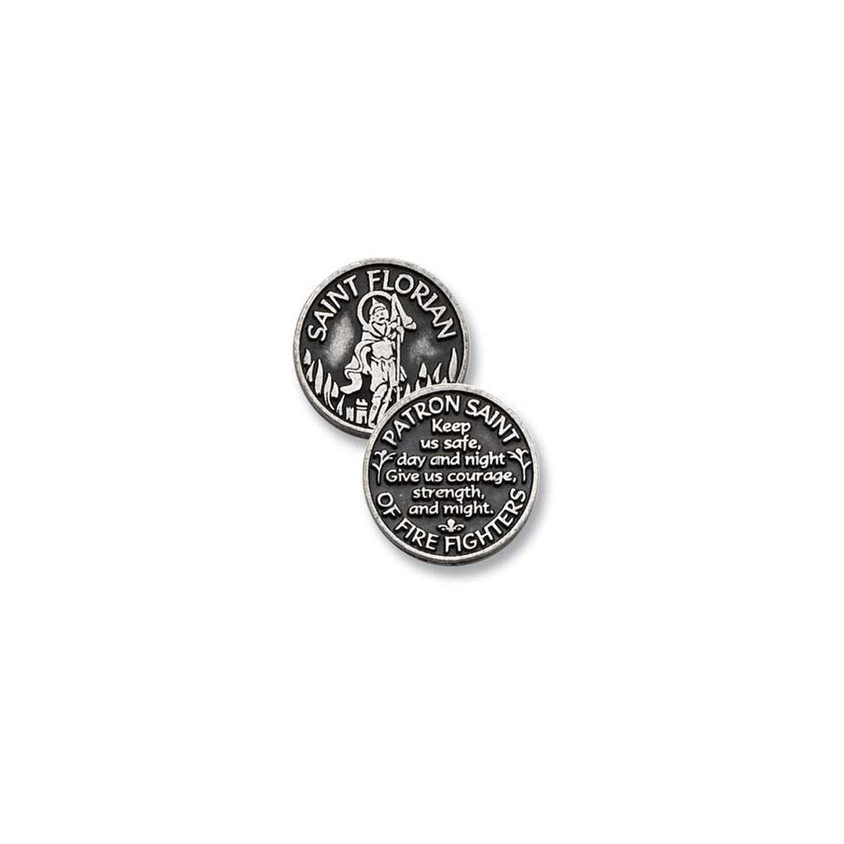 Saint Florian - inspiration coin