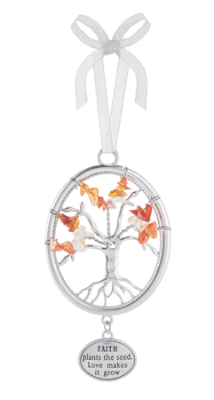 Faith plants the seed - Tree of life ornament