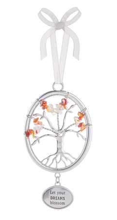 Let your dreams blossom - Tree of life ornament