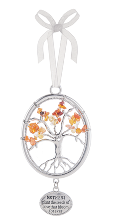 Mothers plant the seeds - Tree of life ornament