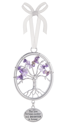 The love between mother and daughter - Tree of life ornament
