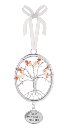 Today everything is possible - Tree of life ornament