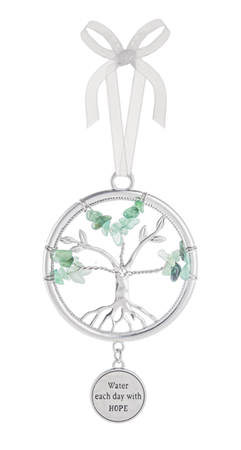 Water each day - Tree of life ornament