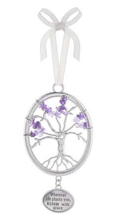Wherever life plants you - Tree of life ornament