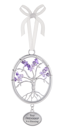 Your friendship - Tree of life ornament