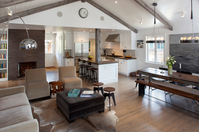 A Few Quick Tips For Adding Life To An Open Floor Plan
