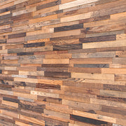 3D Reclaimed Pine Walling